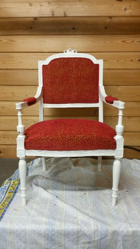 refection fauteuils